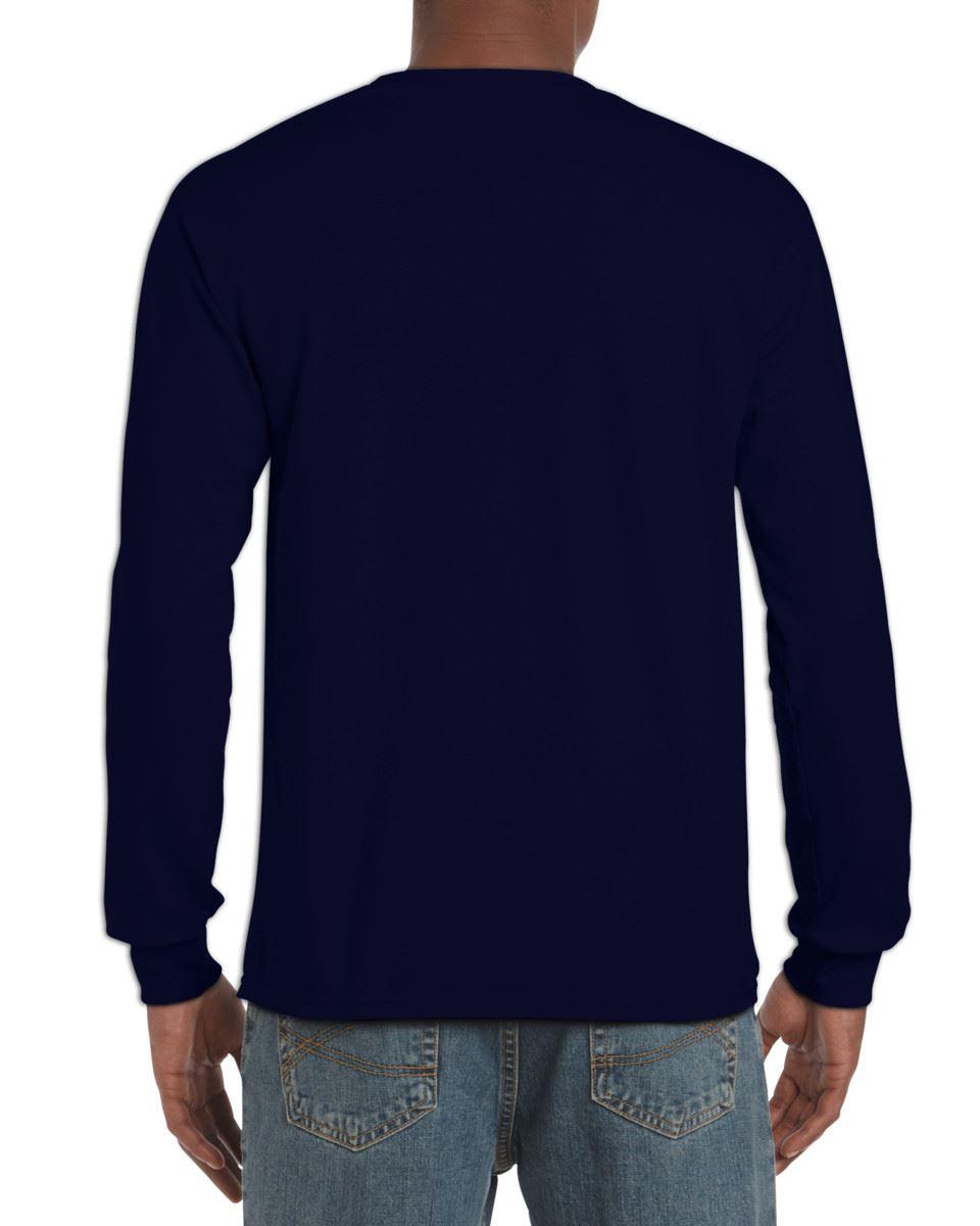 Gildan-Mens-Ultra-Cotton-Adult-Long-Sleeve-Plain-T-Shirt-Tshirt-Cotton-Tee-Shirt thumbnail 19
