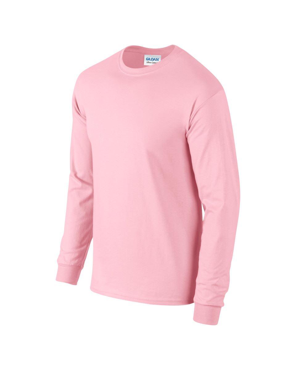 Gildan-Mens-Ultra-Cotton-Adult-Long-Sleeve-Plain-T-Shirt-Tshirt-Cotton-Tee-Shirt thumbnail 86