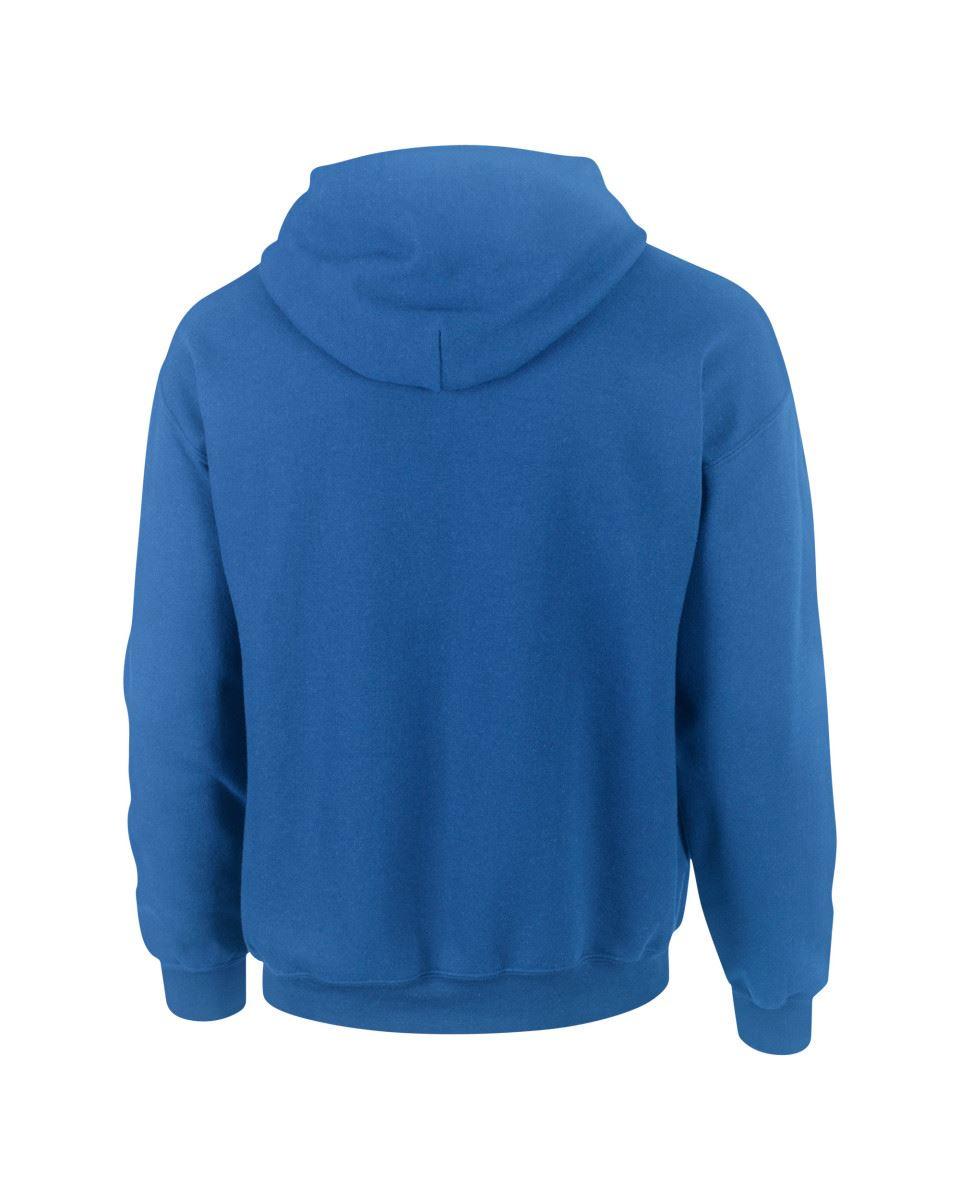 Gildan-Heavy-Blend-Plain-Contrast-Hooded-Sweatshirt-Hoodie-Sweat-Hoody-Jumper thumbnail 29