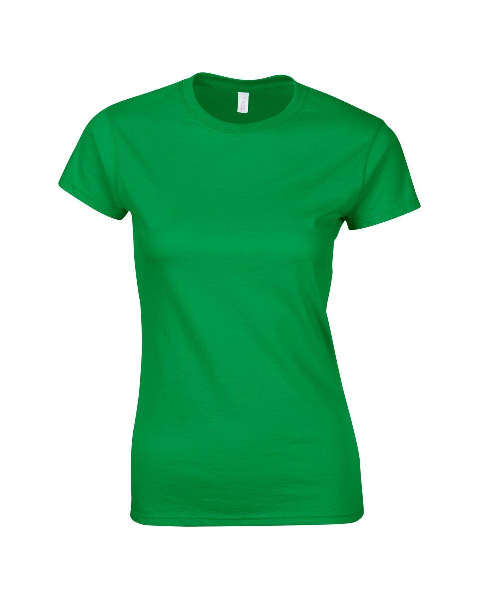 Gildan-Womens-Ladies-Soft-Style-Plain-V-Neck-T-Shirt-Cotton-Tee-Tshirt thumbnail 91
