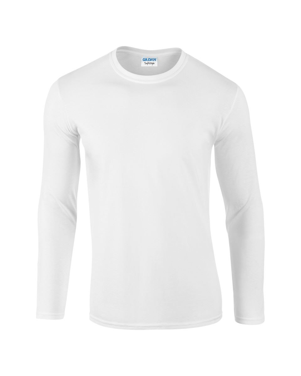 Gildan-MEN-039-S-LONG-SLEEVE-T-SHIRT-SOFT-COTTON-PLAIN-TOP-SLEEVES-CASUAL-NEW-S-2XL thumbnail 3