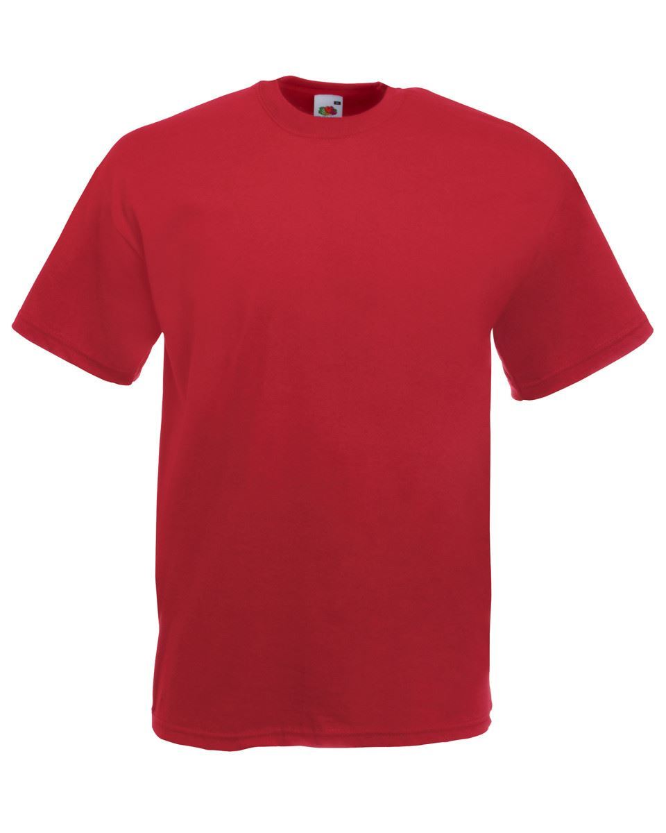 5-Pack-Men-039-s-Fruit-of-the-Loom-Plain-100-Cotton-Blank-Tee-Shirt-Tshirt-T-Shirt thumbnail 58