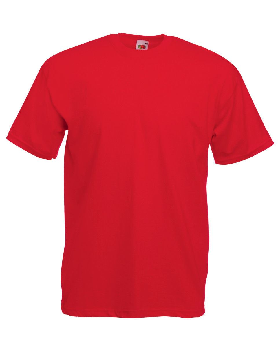 Fruit-Of-The-Loom-Mens-Womens-Valueweight-Plain-Crew-Neck-T-Shirt-Tee-Cotton thumbnail 130
