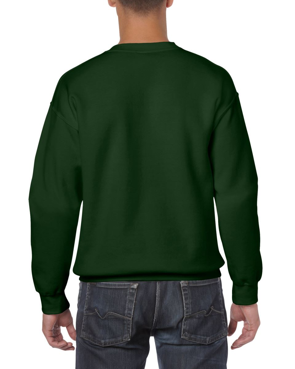Gildan-Heavy-Blend-Adult-Crew-Neck-Pullover-Sweatshirt-Sweater-Workwear-Uniform thumbnail 71
