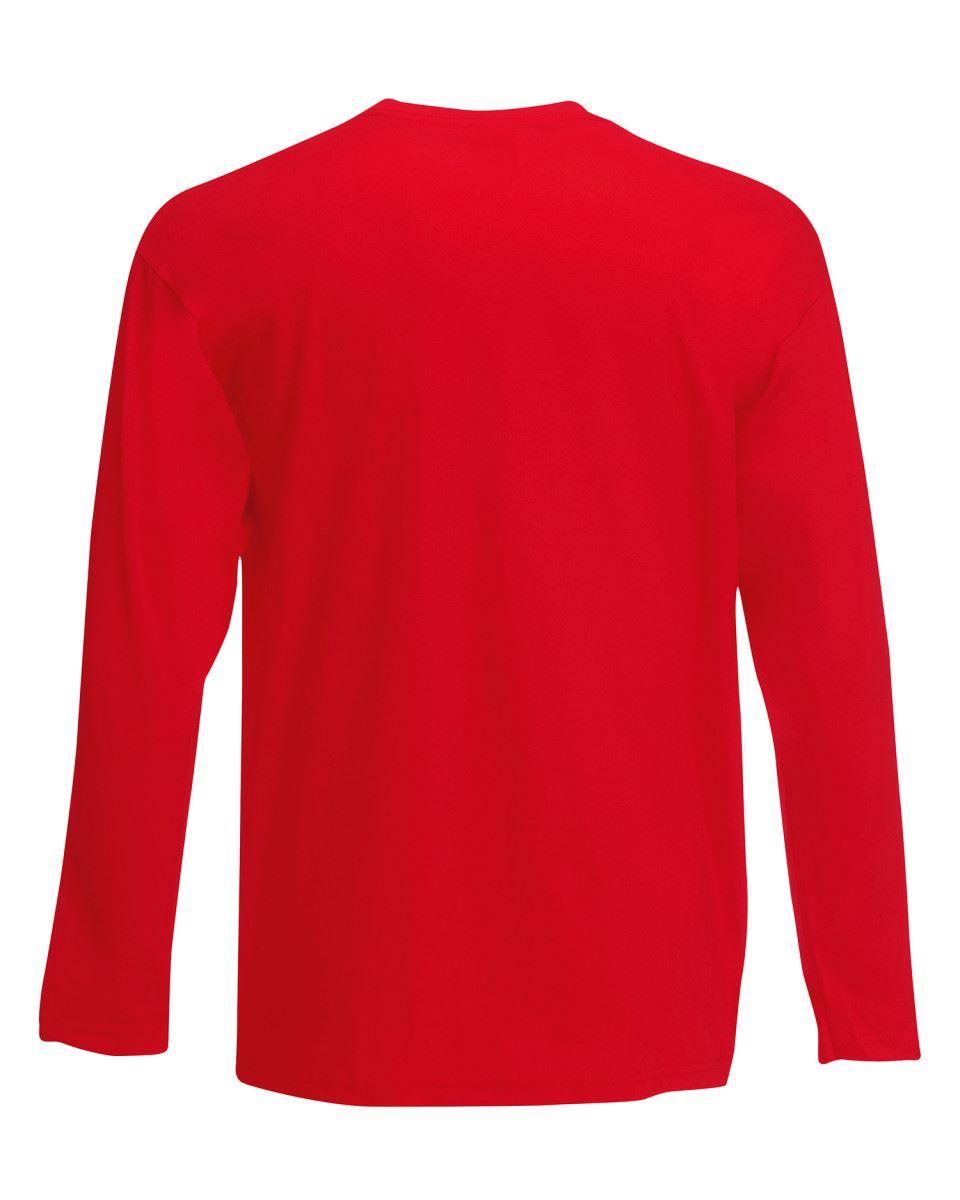 3-Pack-Men-039-s-Fruit-of-the-Loom-Long-Sleeve-T-Shirt-Plain-Tee-Shirt-Top-Cotton thumbnail 75