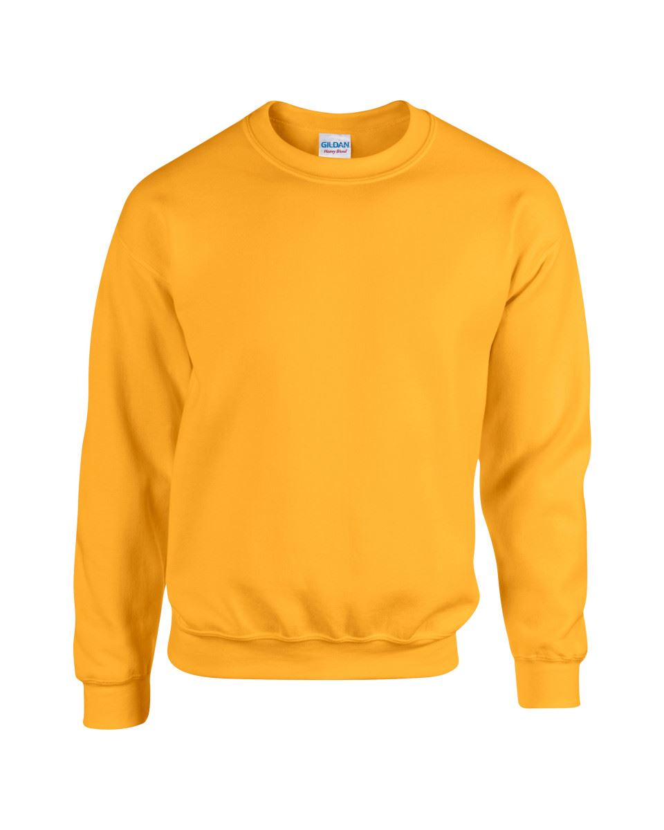 Gildan-Heavy-Blend-Adult-Crew-Neck-Pullover-Sweatshirt-Sweater-Workwear-Uniform thumbnail 79