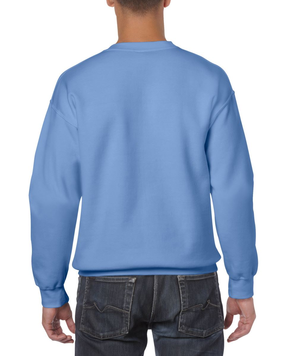 Gildan-Heavy-Blend-Adult-Crew-Neck-Pullover-Sweatshirt-Sweater-Workwear-Uniform thumbnail 46