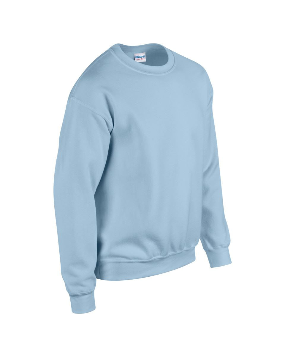 Gildan-Heavy-Blend-Adult-Crew-Neck-Pullover-Sweatshirt-Sweater-Workwear-Uniform thumbnail 110