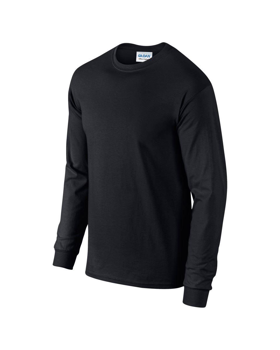 Gildan-Mens-Ultra-Cotton-Adult-Long-Sleeve-Plain-T-Shirt-Tshirt-Cotton-Tee-Shirt thumbnail 11