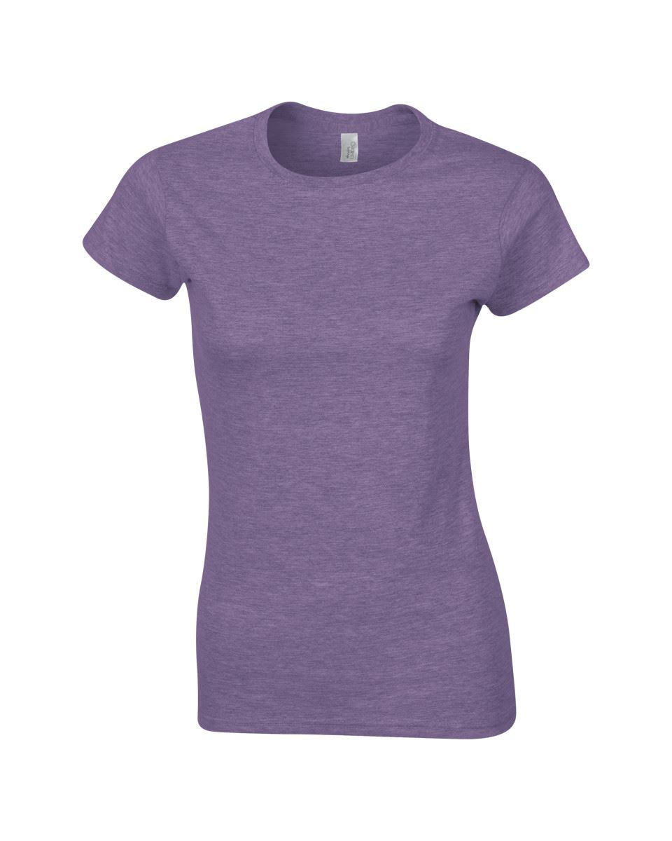 Gildan-Womens-Ladies-Soft-Style-Plain-V-Neck-T-Shirt-Cotton-Tee-Tshirt thumbnail 76