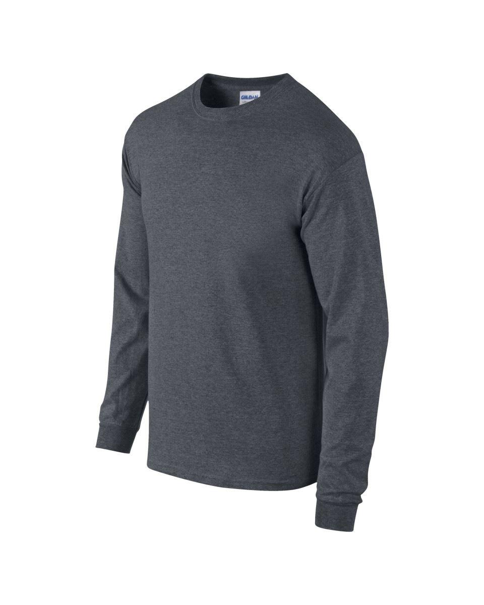 Gildan-Mens-Ultra-Cotton-Adult-Long-Sleeve-Plain-T-Shirt-Tshirt-Cotton-Tee-Shirt thumbnail 61