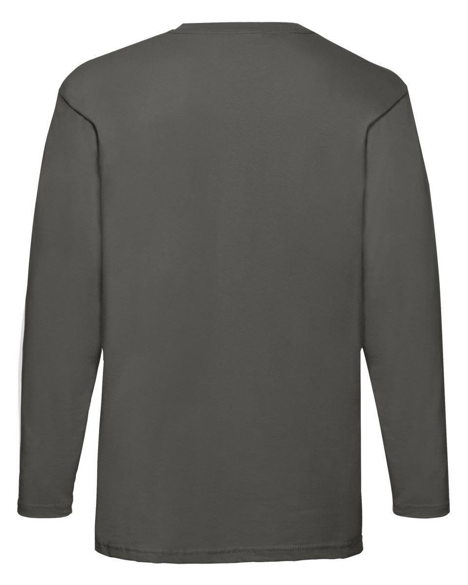 3-Pack-Men-039-s-Fruit-of-the-Loom-Long-Sleeve-T-Shirt-Plain-Tee-Shirt-Top-Cotton thumbnail 59