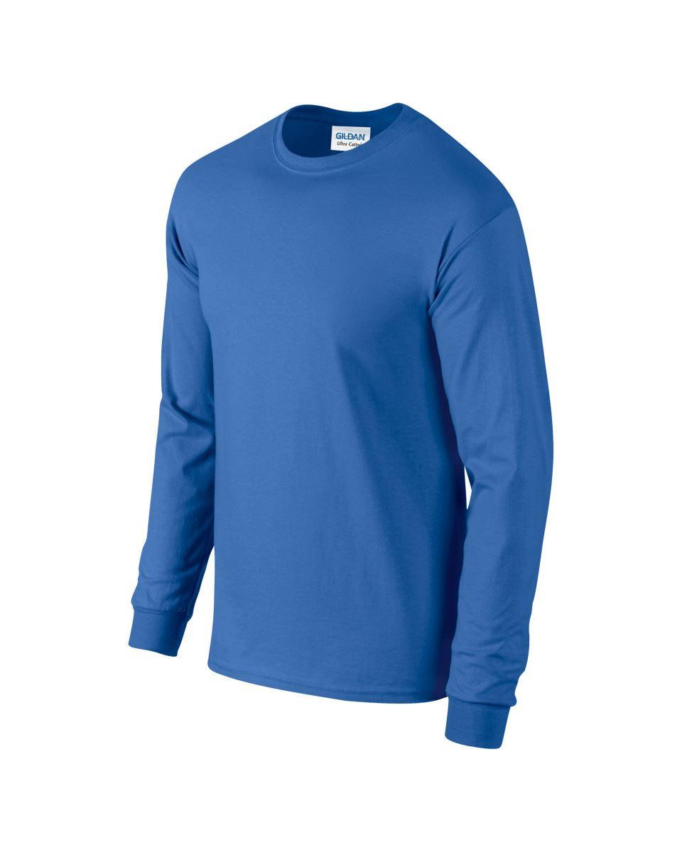 Gildan-Mens-Ultra-Cotton-Adult-Long-Sleeve-Plain-T-Shirt-Tshirt-Cotton-Tee-Shirt thumbnail 31