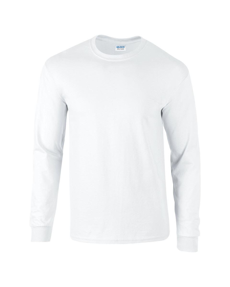 Gildan-Mens-Ultra-Cotton-Adult-Long-Sleeve-Plain-T-Shirt-Tshirt-Cotton-Tee-Shirt thumbnail 5