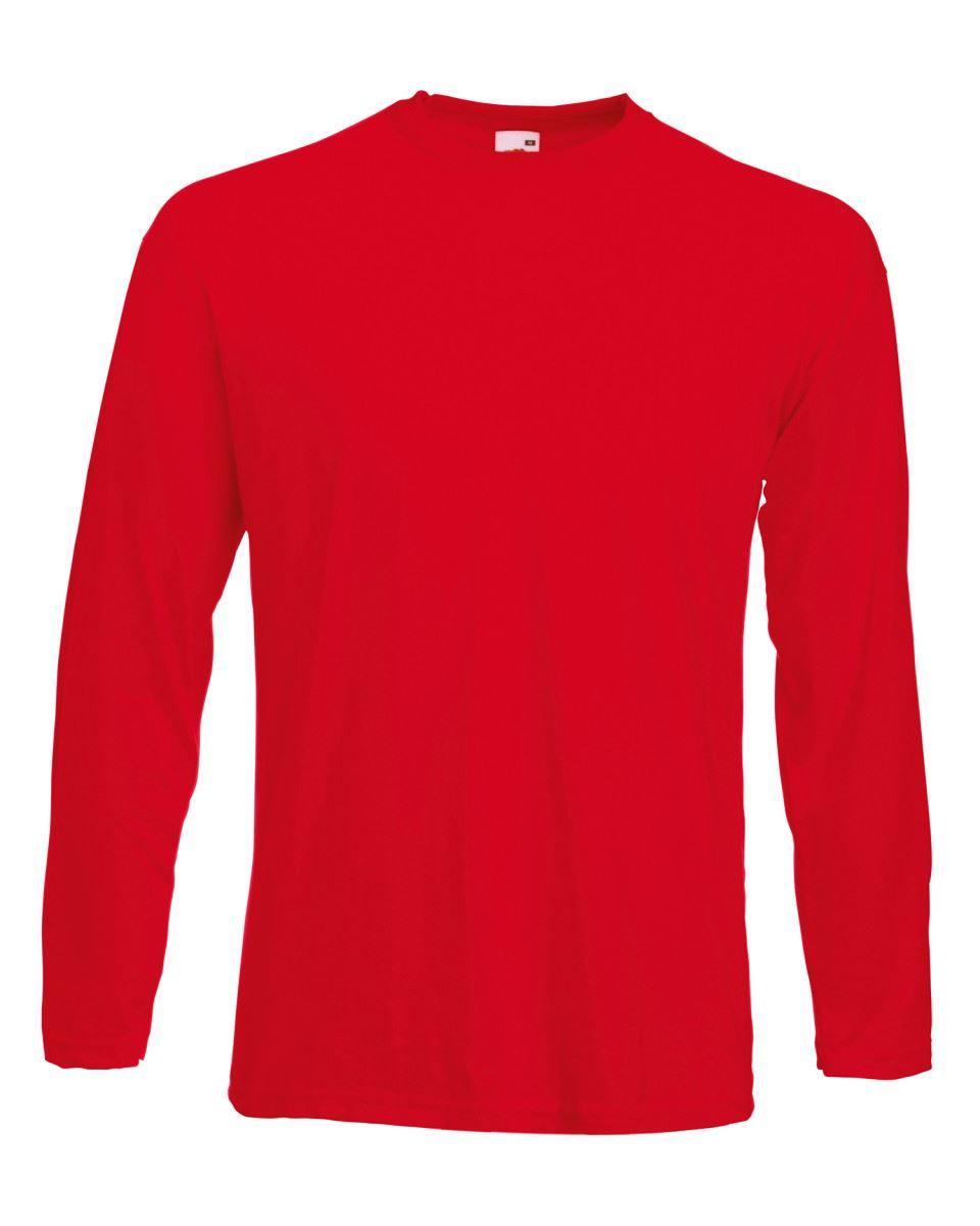 3-Pack-Men-039-s-Fruit-of-the-Loom-Long-Sleeve-T-Shirt-Plain-Tee-Shirt-Top-Cotton thumbnail 80