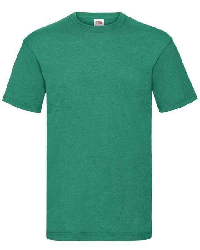 Fruit-Of-The-Loom-Mens-Womens-Valueweight-Plain-Crew-Neck-T-Shirt-Tee-Cotton thumbnail 134