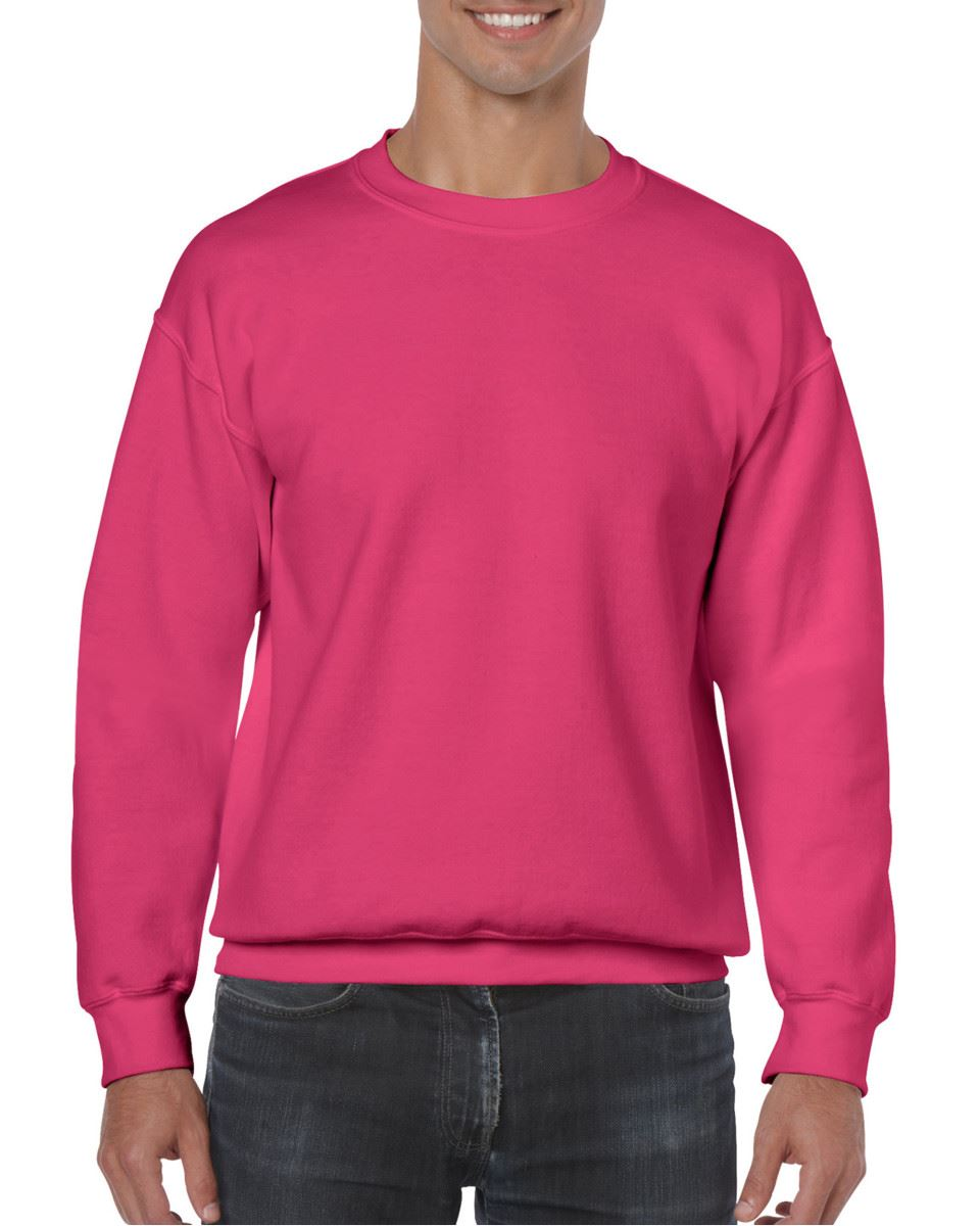 Gildan-Heavy-Blend-Adult-Crew-Neck-Pullover-Sweatshirt-Sweater-Workwear-Uniform thumbnail 92