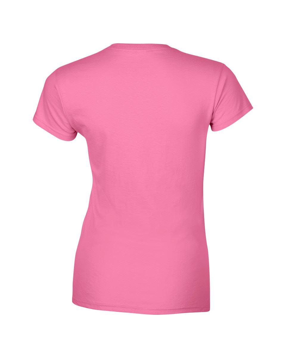 Gildan-Womens-Ladies-Soft-Style-Plain-V-Neck-T-Shirt-Cotton-Tee-Tshirt thumbnail 30