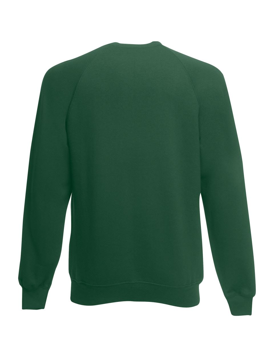 Mens-Sweatshirt-Fruit-Of-The-Loom-Raglan-Sweat-Pullover-Plain-Top-Jumper-Sweater thumbnail 15