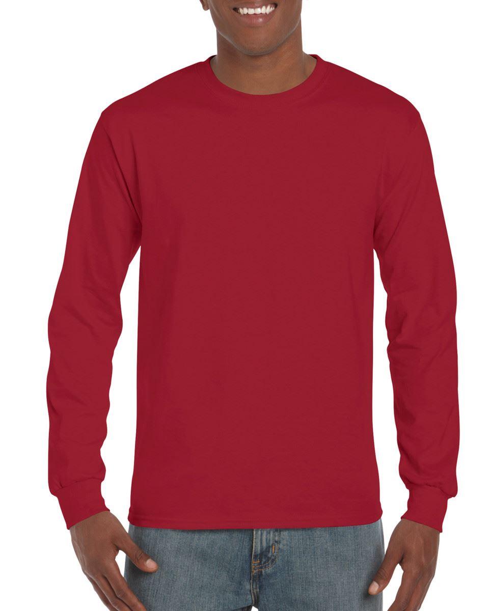3-Pack-Gildan-Mens-Ultra-Cotton-Adult-Long-Sleeve-Plain-T-Shirt-Cotton-Tee-Shirt thumbnail 47
