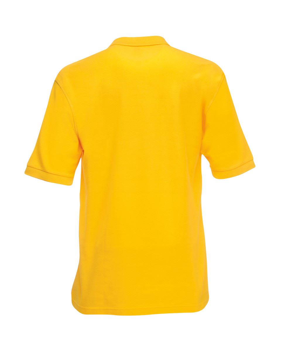 Mens-Polo-Shirts-Fruit-of-the-Loom-Premium-Polo-100-Cotton-Polo-Shirt-SS255 thumbnail 45