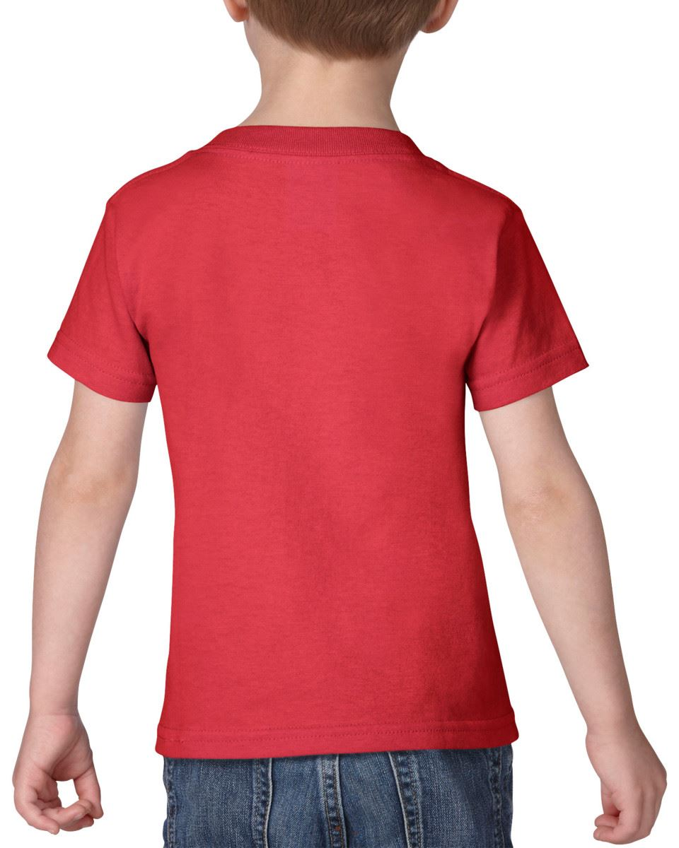 GILDAN-Childrens-Kids-Toddler-Heavy-Cotton-T-Shirts-T-Shirt-Tshirt-Tee-6-Colours thumbnail 15