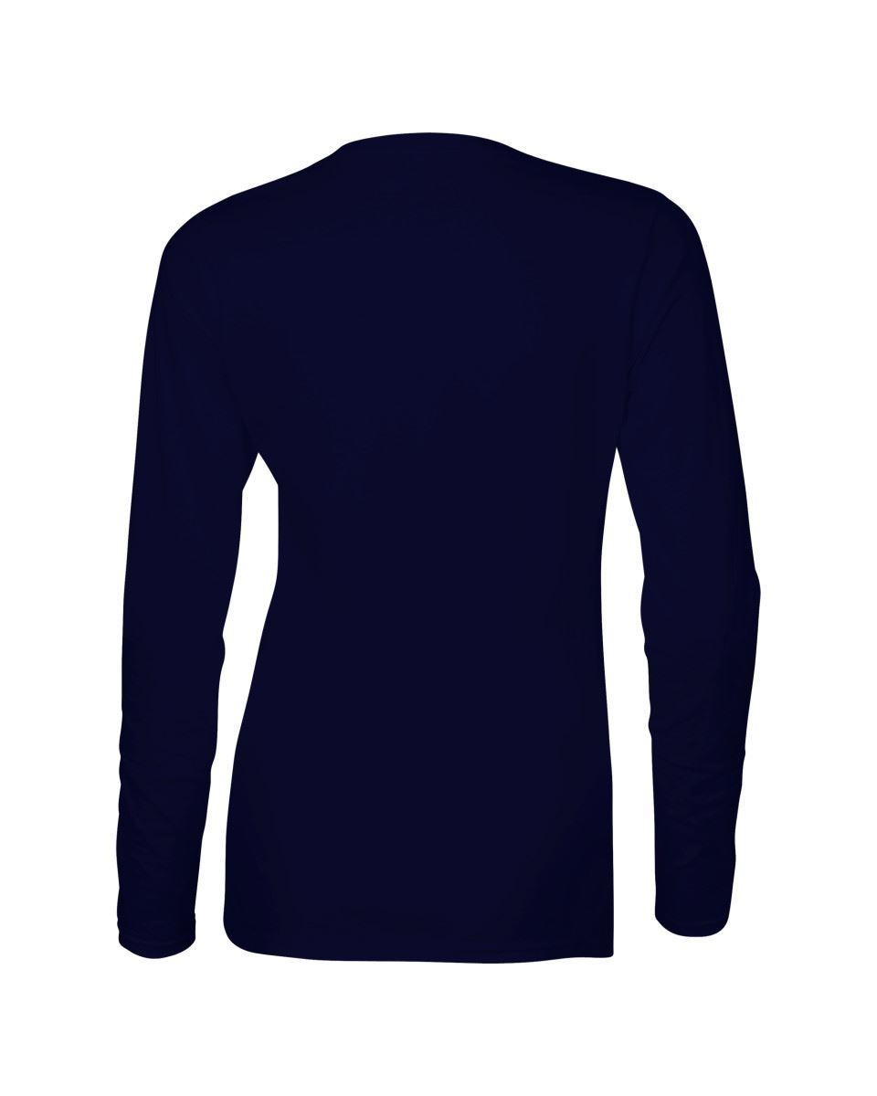 GILDAN-softsyle-Femmes-T-shirt-homme-a-manches-longues-100-Coton-Doux-Decontracte-Femme miniature 31