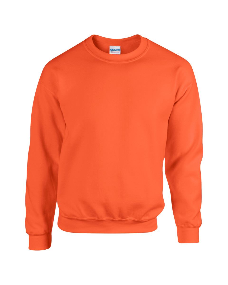 Gildan-Heavy-Blend-Adult-Crew-Neck-Pullover-Sweatshirt-Sweater-Workwear-Uniform thumbnail 129