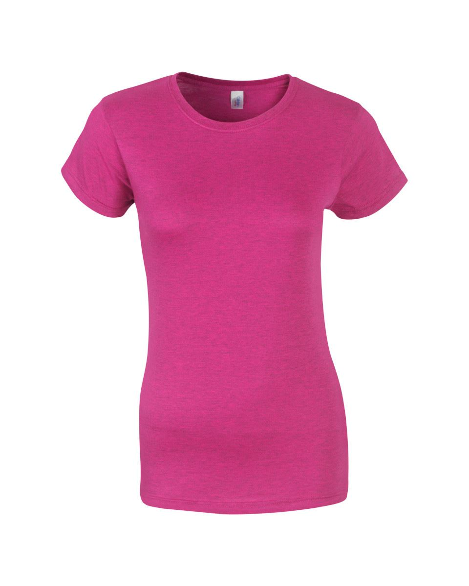 Gildan-Womens-Ladies-Soft-Style-Plain-V-Neck-T-Shirt-Cotton-Tee-Tshirt thumbnail 19