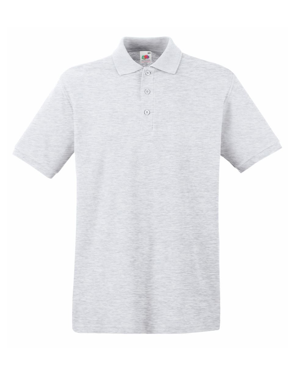 Mens-Polo-Shirts-Fruit-of-the-Loom-Premium-Polo-100-Cotton-Polo-Shirt-SS255 thumbnail 6