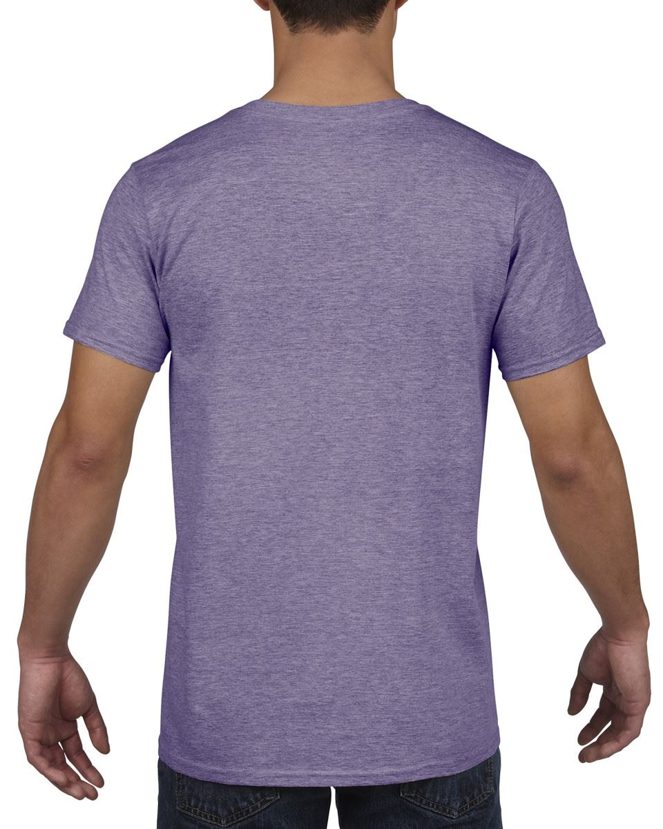 Gildan-Mens-Men-039-s-Soft-Style-Plain-V-Neck-T-Shirt-Cotton-Tee-Tshirt thumbnail 29