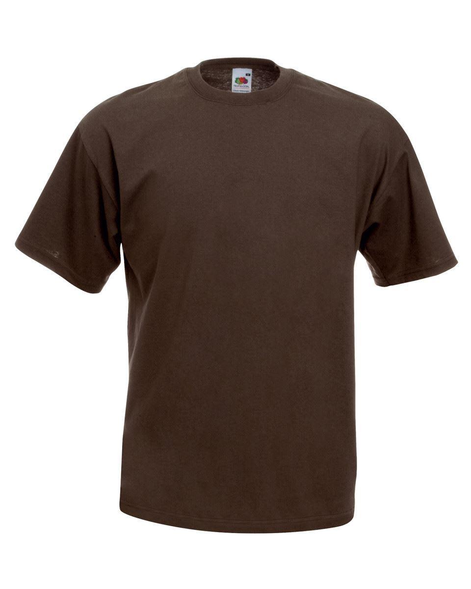5-Pack-Men-039-s-Fruit-of-the-Loom-Plain-100-Cotton-Blank-Tee-Shirt-Tshirt-T-Shirt thumbnail 80