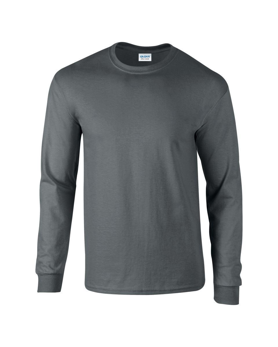 8d254db09 Details about 3 Pack Gildan Mens Ultra Cotton Adult Long Sleeve Plain T  Shirt Cotton Tee Shirt