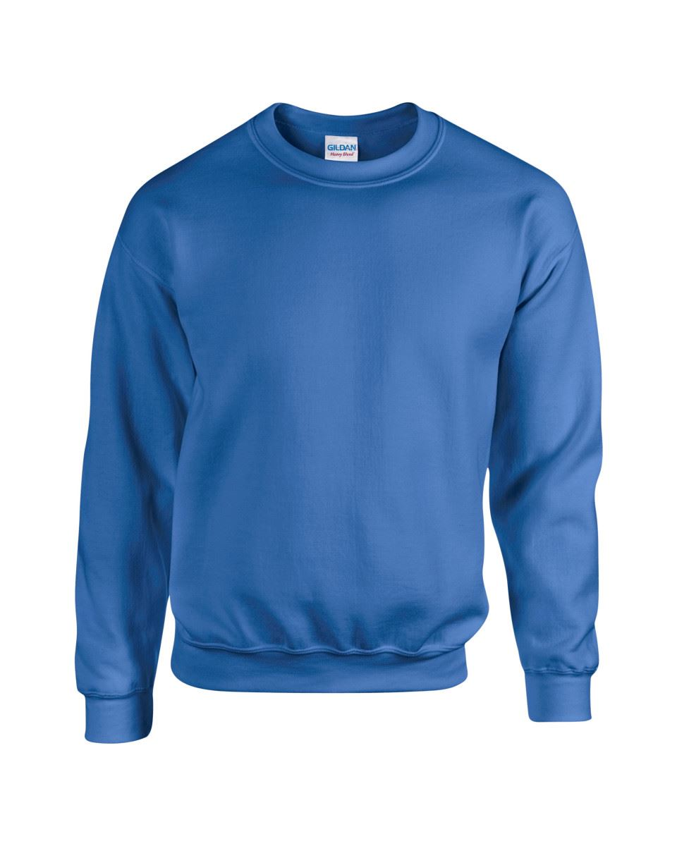 Gildan-Heavy-Blend-Adult-Crew-Neck-Pullover-Sweatshirt-Sweater-Workwear-Uniform thumbnail 30