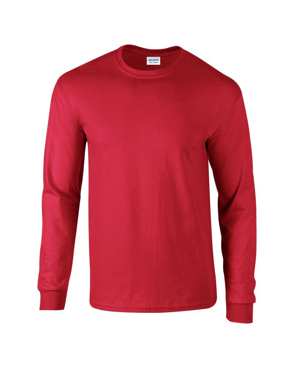 Gildan-Mens-Ultra-Cotton-Adult-Long-Sleeve-Plain-T-Shirt-Tshirt-Cotton-Tee-Shirt thumbnail 25