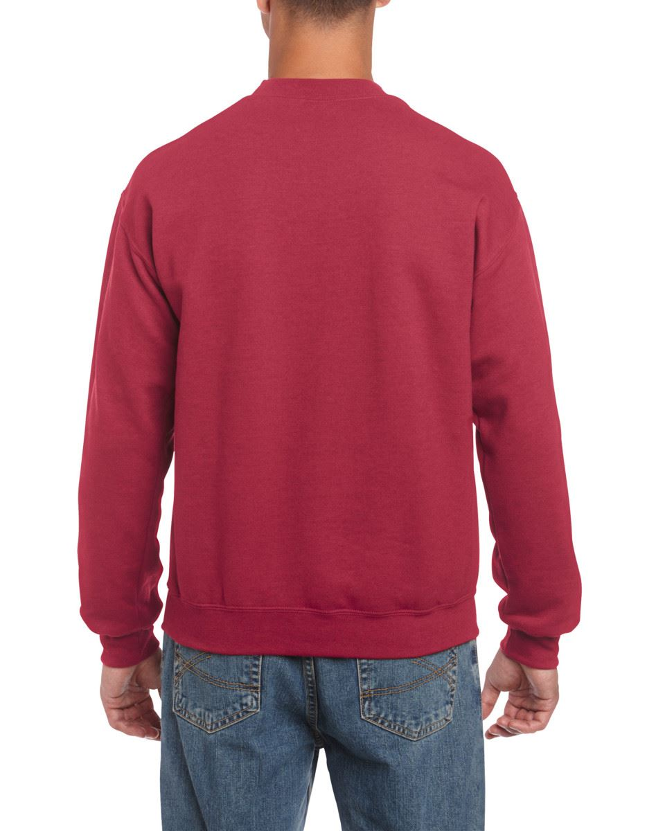 Gildan-Heavy-Blend-Adult-Crew-Neck-Pullover-Sweatshirt-Sweater-Workwear-Uniform thumbnail 34