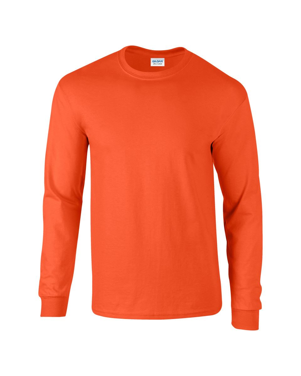 Gildan-Mens-Ultra-Cotton-Adult-Long-Sleeve-Plain-T-Shirt-Tshirt-Cotton-Tee-Shirt thumbnail 95