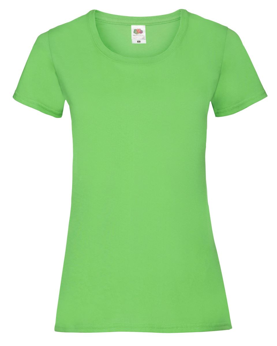 Fruit-of-the-Loom-Womens-Lady-Fit-T-Shirt-Valueweight-Plain-Blank-T-Shirt-Top thumbnail 24