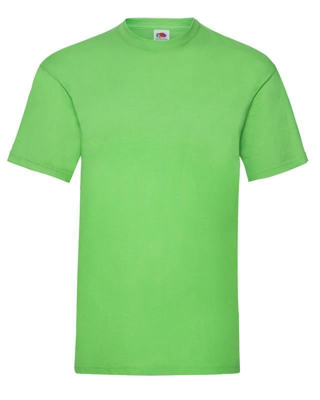 Fruit-Of-The-Loom-Mens-Womens-Valueweight-Plain-Crew-Neck-T-Shirt-Tee-Cotton thumbnail 102