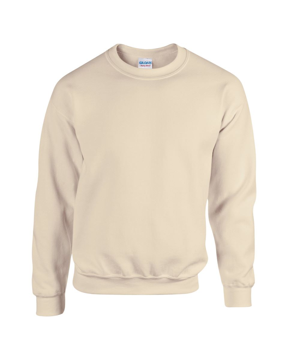 Gildan-Heavy-Blend-Adult-Crew-Neck-Pullover-Sweatshirt-Sweater-Workwear-Uniform thumbnail 148