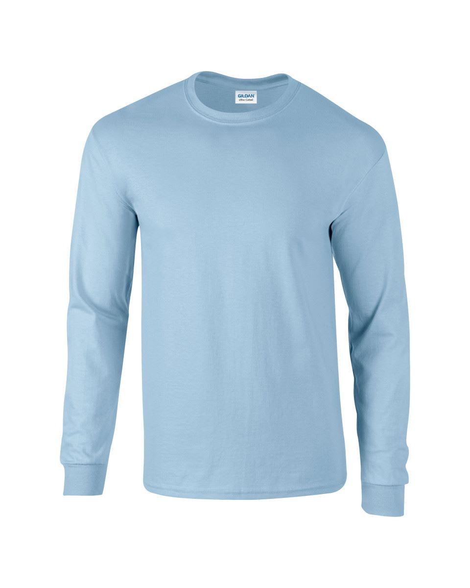 Gildan-Mens-Ultra-Cotton-Adult-Long-Sleeve-Plain-T-Shirt-Tshirt-Cotton-Tee-Shirt thumbnail 80