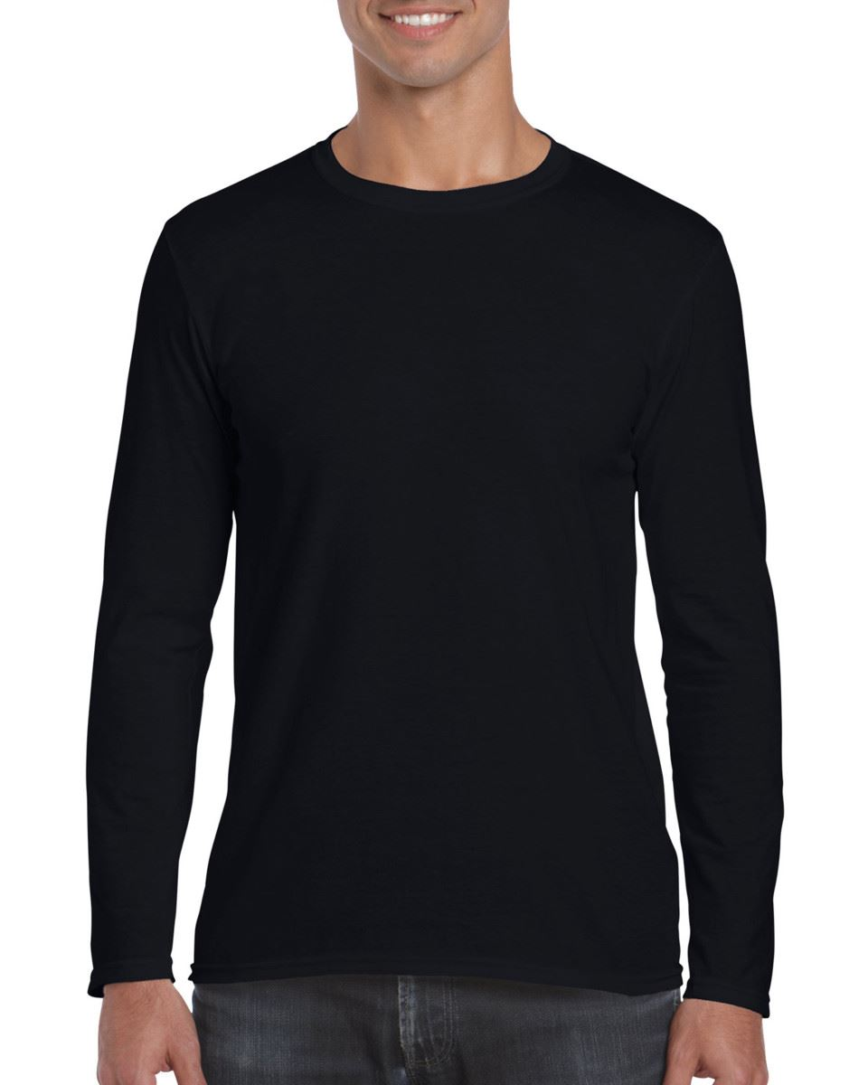 Gildan-MEN-039-S-LONG-SLEEVE-T-SHIRT-SOFT-COTTON-PLAIN-TOP-SLEEVES-CASUAL-NEW-S-2XL thumbnail 11