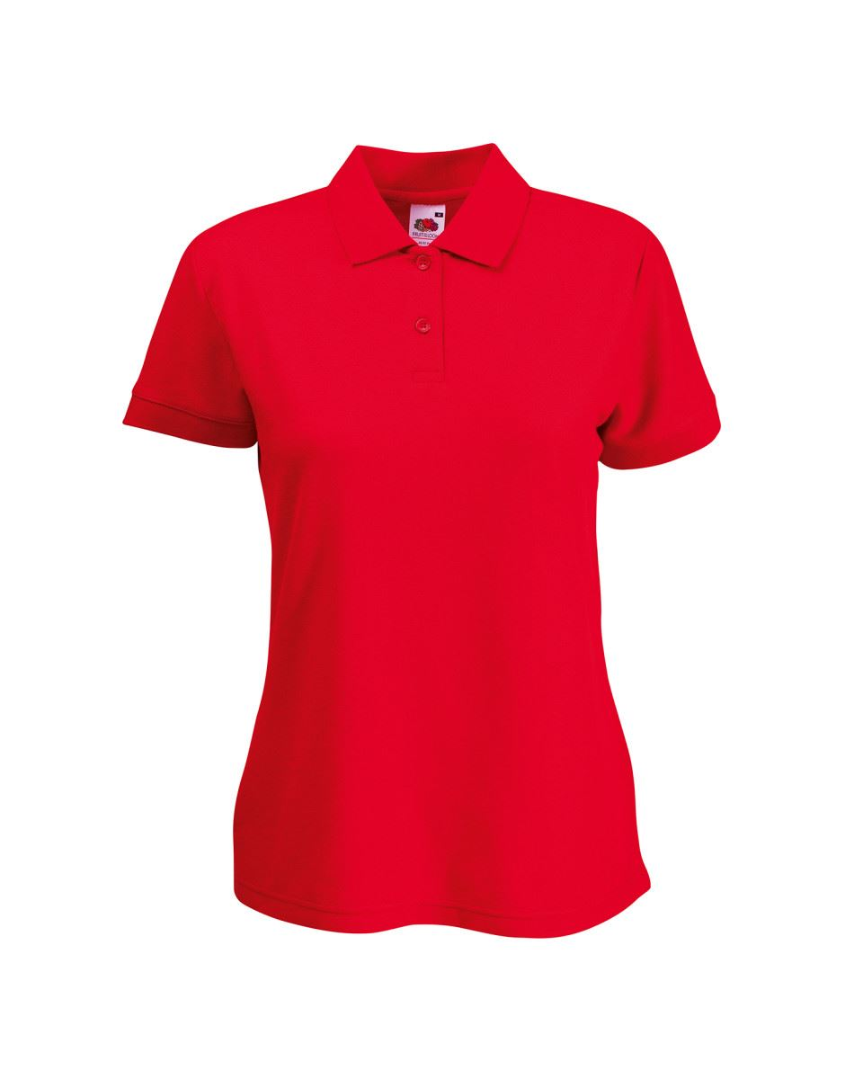Fruit-Of-The-Loom-Ladies-Lady-Fit-Premium-Pique-Cadat-Collar-Polo-Shirts-T-shirt thumbnail 16