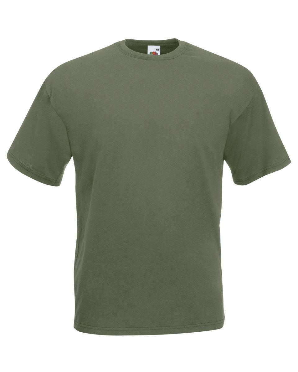 5-Pack-Men-039-s-Fruit-of-the-Loom-Plain-100-Cotton-Blank-Tee-Shirt-Tshirt-T-Shirt thumbnail 88