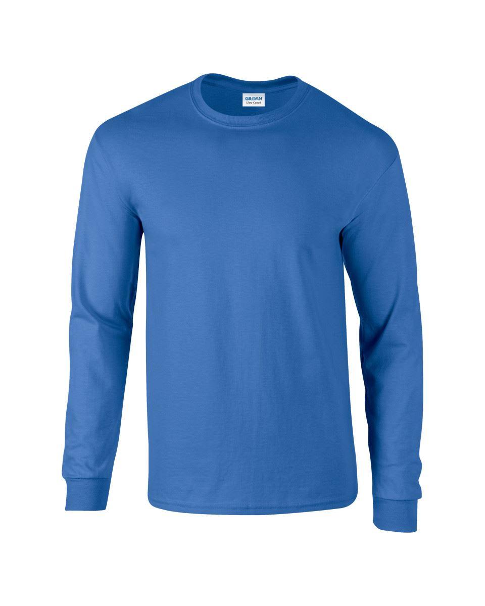 Gildan-Mens-Ultra-Cotton-Adult-Long-Sleeve-Plain-T-Shirt-Tshirt-Cotton-Tee-Shirt thumbnail 30