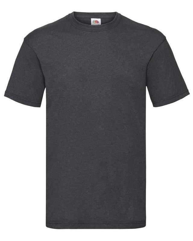 Fruit-Of-The-Loom-Mens-Womens-Valueweight-Plain-Crew-Neck-T-Shirt-Tee-Cotton thumbnail 56