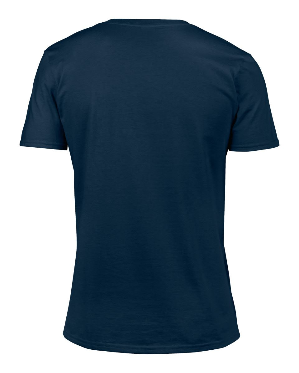 Gildan-Mens-Men-039-s-Soft-Style-Plain-V-Neck-T-Shirt-Cotton-Tee-Tshirt thumbnail 41