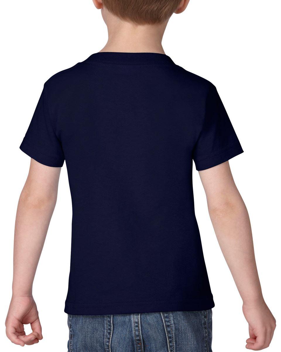 GILDAN-Childrens-Kids-Toddler-Heavy-Cotton-T-Shirts-T-Shirt-Tshirt-Tee-6-Colours thumbnail 13