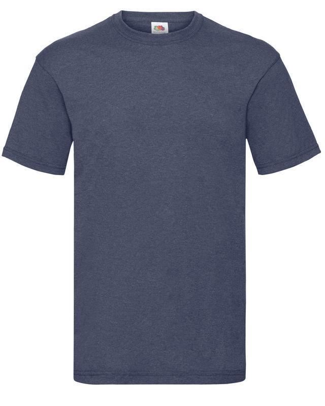 Fruit-Of-The-Loom-Mens-Womens-Valueweight-Plain-Crew-Neck-T-Shirt-Tee-Cotton thumbnail 161
