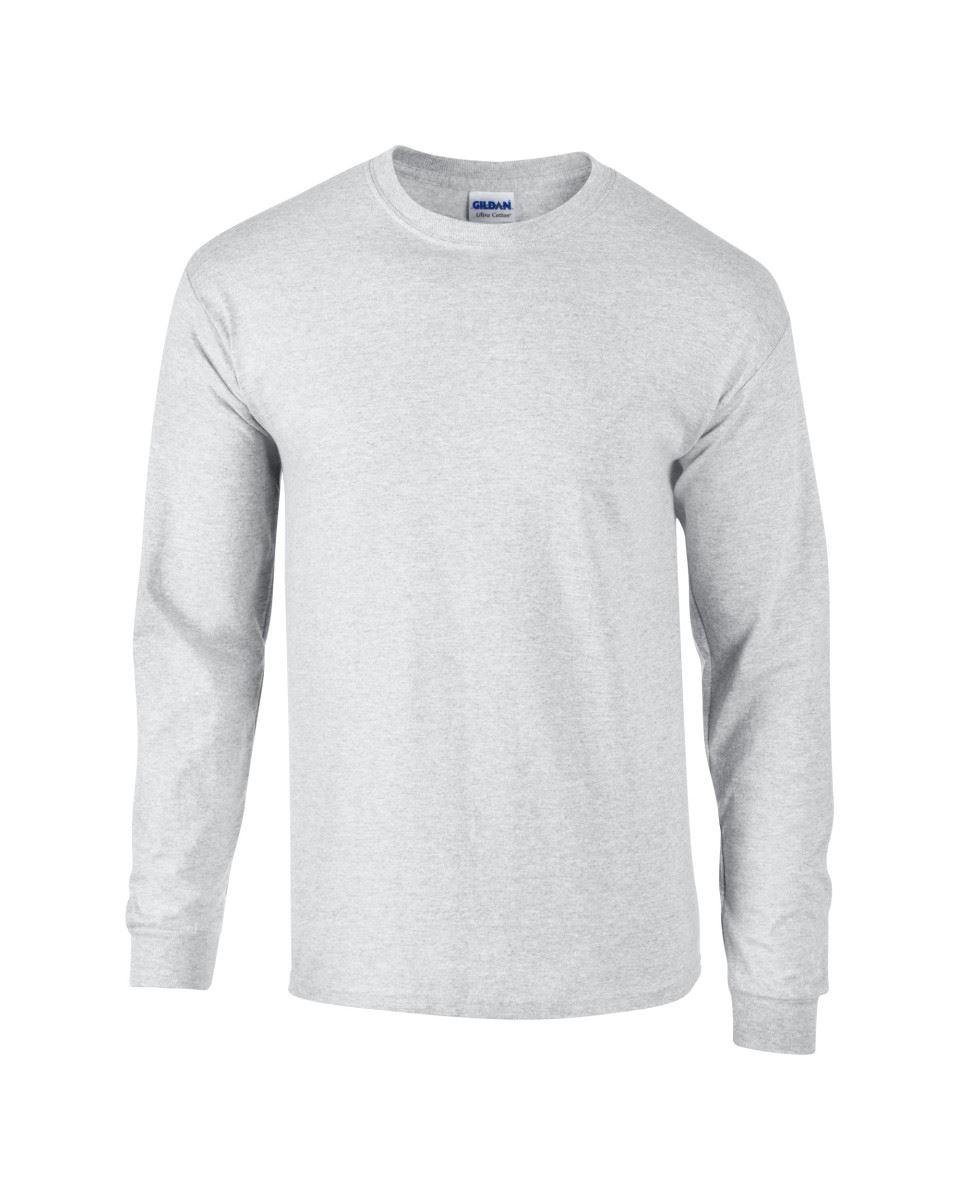 Gildan-Mens-Ultra-Cotton-Adult-Long-Sleeve-Plain-T-Shirt-Tshirt-Cotton-Tee-Shirt thumbnail 35